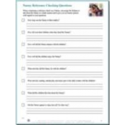 Nanny Interview Questions Sheet - Download
